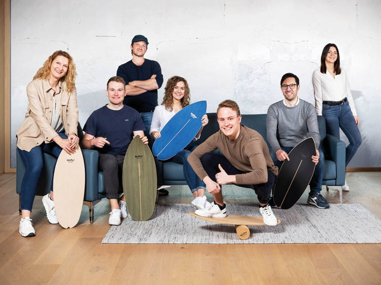 Das gesamte Team von wahuboard.com